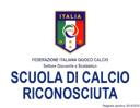 Scuola Calcio Riconosciuta
